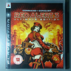 Joc RED ALERT 3 - Ultimate Edition PS3 PlayStation 3 Ca Nou! - Jocuri PS3 Ea Games, Strategie, 12+