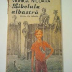 Roman - LIBELULA ALBASTRA - VIORICA NICOARA ( 435 )