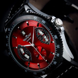 Ceas Casual Winner Tachymetre MILITAR ARMY DELUXE/FASHION EXCLUSIVE GOLD, BLACK, WHITE, RED | FULL AUTOMATIC | CALITATE | CEL MAI MIC PRET GARANTAT