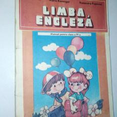 Limba Engleza manual pentru clasa a IV -a, 1993/ '92 - Curs Limba Engleza