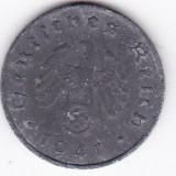 Germania nazista 10 Pfennig 1941 A tipul cu svastica