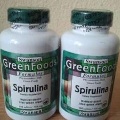 SPIRULINA, 500 mg, 180 de tablete, cel mai bun pret in Romania! - Supliment nutritiv