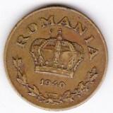 1) Carol II. 1 LEU 1940 - Moneda Romania