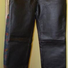 Pantaloni dama, Lungi, Piele - Pantaloni piele femei