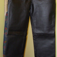 Pantaloni piele femei - Pantaloni dama, Lungi