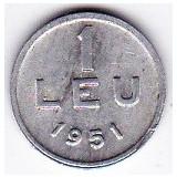6) RPR.moneda 1 leu 1951 - Moneda Romania