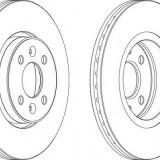 Discuri frana fata Renault CLIO II (BB0/1/2_, CB0/1/2_) 2.016V, CLIO II (BB0/1/2_, CB0/1/2_) - [1998 - 2005]