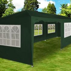 Mobila terasa gradina - Cort de gradina 3x9 m verde, pavilion, cort bere, cort nunti 9x3 m