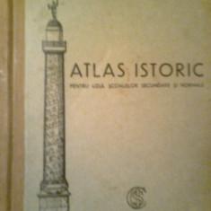 Atlas Istoric - Prof. AGLAIA GHEORGHIU FRIEDMANN (30 de harti)