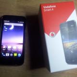 Vand Vodafone Smart4 - Telefon mobil Vodafone, Negru, 4GB, Dual core, 1 GB