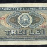 ROMANIA 3 LEI 1966 [2] XF