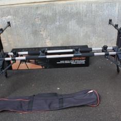 Rod pod Pescuit - Rod Pod 5 Posturi Carp FX 4 picioare Sistem Easy Flex Generation Buzzbar 90 cm