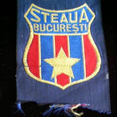 Fanion fotbal - BDEC - ECUSON - TEMATICA - STEAUA BUCURESTI - DEJA DEVINE RARITATE!!!!!!!