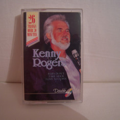 Vand caseta audio Kenny Rogers, originala, raritate! - Muzica Country Altele, Casete audio