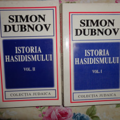 Istoria hasidismului (2 vol)- Simon Dubnov - Carti Iudaism