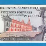 Venezuela 50 bolivares 1992 UNC - bancnota america