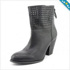 100% AUTENTIC - Cizme NINE WEST - Pantofi Dama, Femei - Cizme Piele Naturala - Primavara, Vara - Ghete Perforate - Ghete Originale NINE WEST