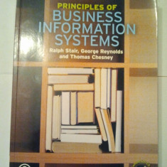 PRINCIPLES OF BUSINESS INFORMATION SYSTEMS - PRINCIPIILE SISTEMELOR INFORMATICE IN AFACERI + CD { 19 X 26 CM } ( AS 22 ) - Curs management