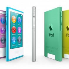 iPod Nano Apple Gen 7 NOU Sigilat 16Gb NEGRU, ALBASTRU, ARGINTIU, 7th generation