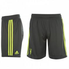 Pantaloni scurti Adidas Brondby copii, Culoare: Negru, Baieti