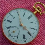 Japy Frères - Art Deco - Aur masiv de 14K - Ceas de buzunar