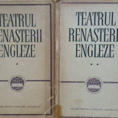 TEATRUL RENASTERII ENGLEZE (2 volume) - Carte Teatru