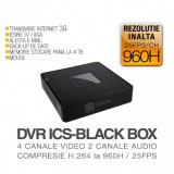 DVR ICS-BLACK BOX 4 canale video, 2 canale audio, Altele