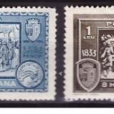 Timbre Romania - 1933 - Centenarul orasului Turnu Severin, serie nestampilata
