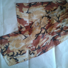 Fular scarf esarfa camo camuflaj camouflage tip desert airsoft paintball militar - Echipament Airsoft