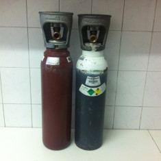 Gaz Airsoft - Butelie Acetilena si OXIGEN pentru Aparat de Sudat Autogen