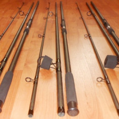 Lanseta, Lansete Crap, Numar elemente: 3 - Set 3 Lansete Crap Wind Blade Fino CARP 3.3 m.