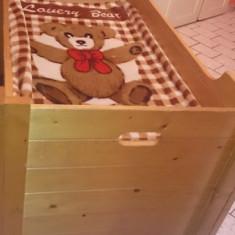Patut lemn pentru bebelusi, 160X70cm, Altele - Patut lemn bebe