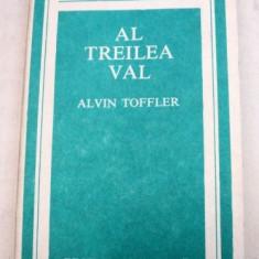 AL TREILEA VAL de ALVIN TOFFLER 1983 - Carte Psihologie