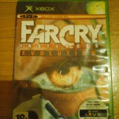 Jocuri Xbox Ubisoft, Actiune, 16+, Multiplayer - JOC XBOX clasic FAR CRY INSTINCTS EVOLUTION ORIGINAL PAL / STOC REAL / by DARK WADDER