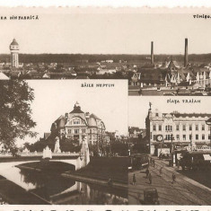 CPI (B4774) TIMISOARA. VEDERE DIN FABRICA, BAILE NEPTUN, CIRCULATA, 1942 - Carte Postala Banat dupa 1918, Fotografie
