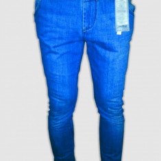 Blugi barbati, Skinny, Lasat - Blugi /Jeans Zara Lefties slim fit-skinny model - original 100%-cel mai mic pret