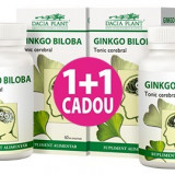 Produs Naturist - 1+1 GRATIS Ginkgo Biloba 60 cpr Dacia Plant