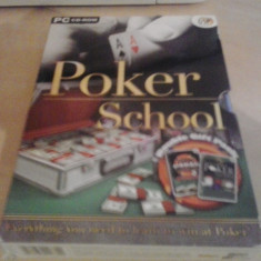 Jocuri PC, Sporturi, 3+ - Joc PC - Poker School - BOX SET ( GameLand )