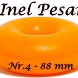 Inel Pesar Nr. 4- 88 mm - cauciuc - Pesary ring