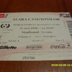 Bilet Sel. Romania - Sel Mondiala - Bilet meci