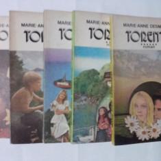 Roman dragoste - Torente (vol.II, III, IV, V, VI) / Marie-Anne Desmarest / C47P