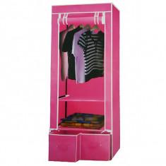 Dulap dormitor - Dulap portabil textil 2086