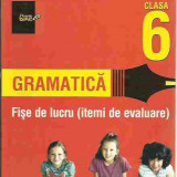 Cornelia Chirita - GRAMATICA FISE DE LUCRU CLASA 6 - Manual scolar paralela 45, Paralela 45, Romana