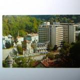 Baile Herculane, hotel Hercules - necirculata - 2+1 gratis - RBK8941 - Carte Postala Transilvania dupa 1918, Fotografie