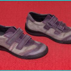 Pantofi copii Ecco, Fete, Piele naturala - DE FIRMA _ Pantofi piele, foarte comozi, CA NOI, calitate ECCO _ fete | nr. 31