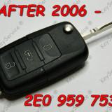 Contact auto, Volkswagen, CRAFTER (2E_) - [2006 - 2013] - Cheie SH Briceag Originala VW Crafter 3 Butoane 2E0 959753 A - ORIGINALA