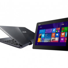 Laptop Asus, Intel Quad, Sub 15 inch, Windows 8.1, Tast. numerica, 1-2 kg - Asus - Transformer Laptop T100TAF - 10.1