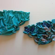 Set doua slipuri fetite, 2-4 ani, surfilat, Chicca. COMANDA MINIMA 30 LEI!, Culoare: Albastru, Fete