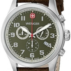 Wenger Men's 71001 Amazon-Exclusive Stainless | 100% original, import SUA, 10 zile lucratoare a22207 - Ceas barbatesc