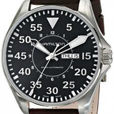 Hamilton Men's H64715535 Khaki Pilot | 100% original, import SUA, 10 zile lucratoare a32207 - Ceas barbatesc Hamilton, Mecanic-Automatic